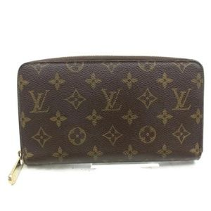 💯 Auth Louis Vuitton Zippy  Wallet Organizer